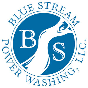 Blue Stream Power Washing Lexington SC Logo